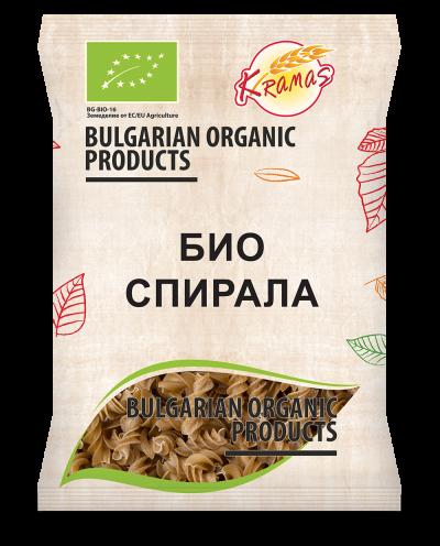 Bio pasta from wheat flour