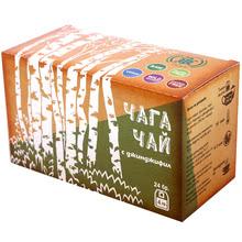 Chaga mushroom tea with ginger