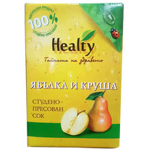 "Сок ""Healty"" ябълка и круша"