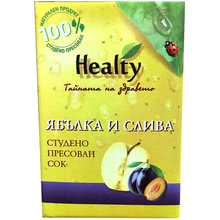 "Сок ""Healty"" ябълка и слива"