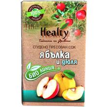 "Био сок ""Healty"" ябълка и дюля"