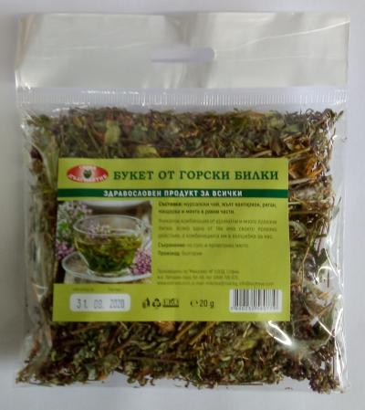 Forest herbs tea