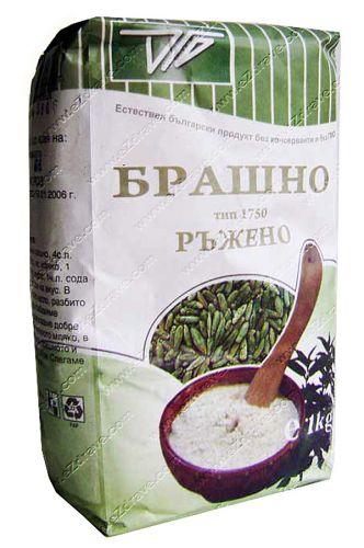 Wholemeal rye flour 1 kg. TIT