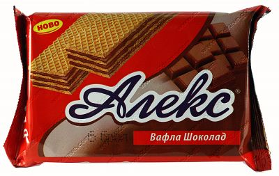 Dietary Alex chocolate wafer 150 g