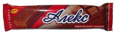 Dietary Alex chocolate wafer 35 g