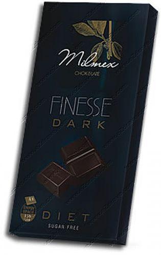 """Dark chocolate diet """"FINESSE"""" 80 g"""