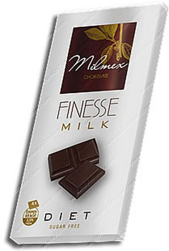 "Diet milk chocolate ""FINESSE"" 80 g"