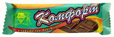 "Diabetic laxative chocolate ""COMFORT"" 20 g"