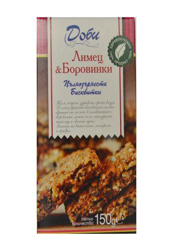 Бисквити с червена боровинка 0.150гр