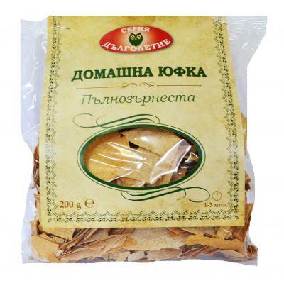 Yufka from full grain flour