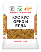 "Cous-Cous from rice and buckwheat ""Kramas"