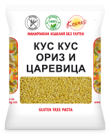 Cous-Cous from rice and corn flour