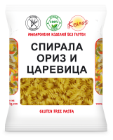 Pasta from rice and corn flour