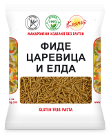 Vermicelli from corn and buckwheat flour