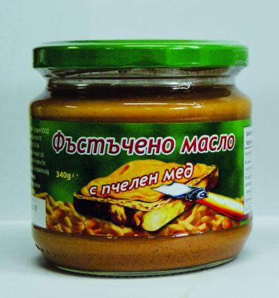 Фъстъчено масло с пчелен мед 340 гр. - Балчо