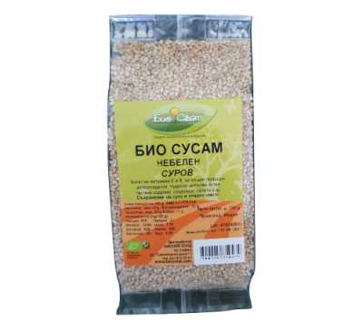 BIO Sesame seeds unpeeled