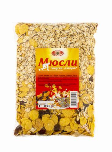 """Мюсли закуска """"Старт"""" 350 гр. - Серия Дълголетие"""