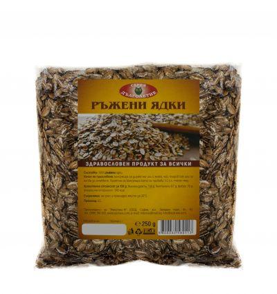 Rye kernels